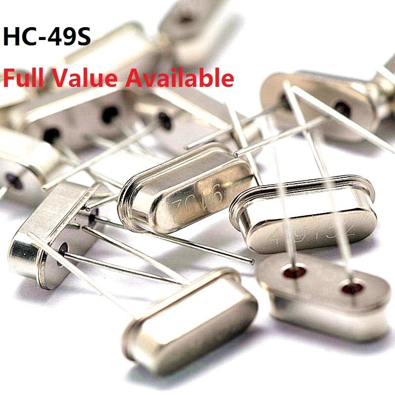 10 pces oscilador de cristal passivo 4/4. 096/4. 433/4. 9152/5/6/7. 2/7. 3728/8/8. 192/10/10. 245/11. 0592/12/13. 56/14. 7456/15. 000 mhz/m/mhz