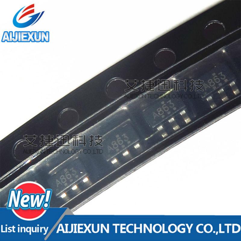 100Pcs SN74AHC1G86DBVR Silk-ScreenA863 IC GATE XOR 1CH 2-INP SOT-23-5 in stock 100% New and original