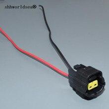 shhworldsea 1.8mm 2pin for Mazda RX7 Intake Air Temp (IAT) Water Temperature Sensor Connector 174352-2