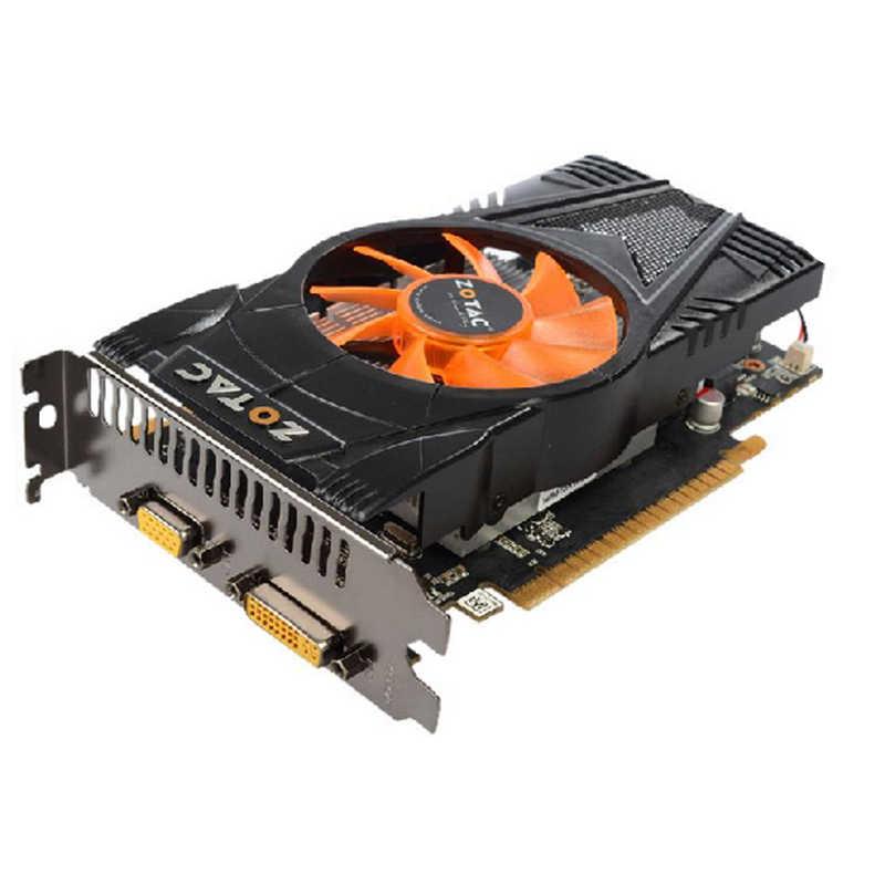 Zotac Graphics Card Gtx 550 Ti 1gb Gpu Gddr5 Video Card For Nvidia Map Geforce Gtx550 Ti 1gd5 Gtx 550ti Cards Dvi Vga Videocard Graphics Cards Aliexpress