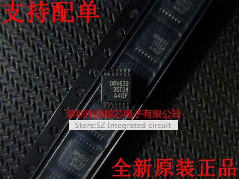 Envío gratis 10 unids/lote DRV632PWR DRV632PW DRV632 amplificador de audio IC TSSOP14 nuevo