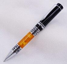 Yiren Celluloid stylo à bille lisse recharge stylo belle argent fleur motif écriture affaires bureau maison fournitures scolaires