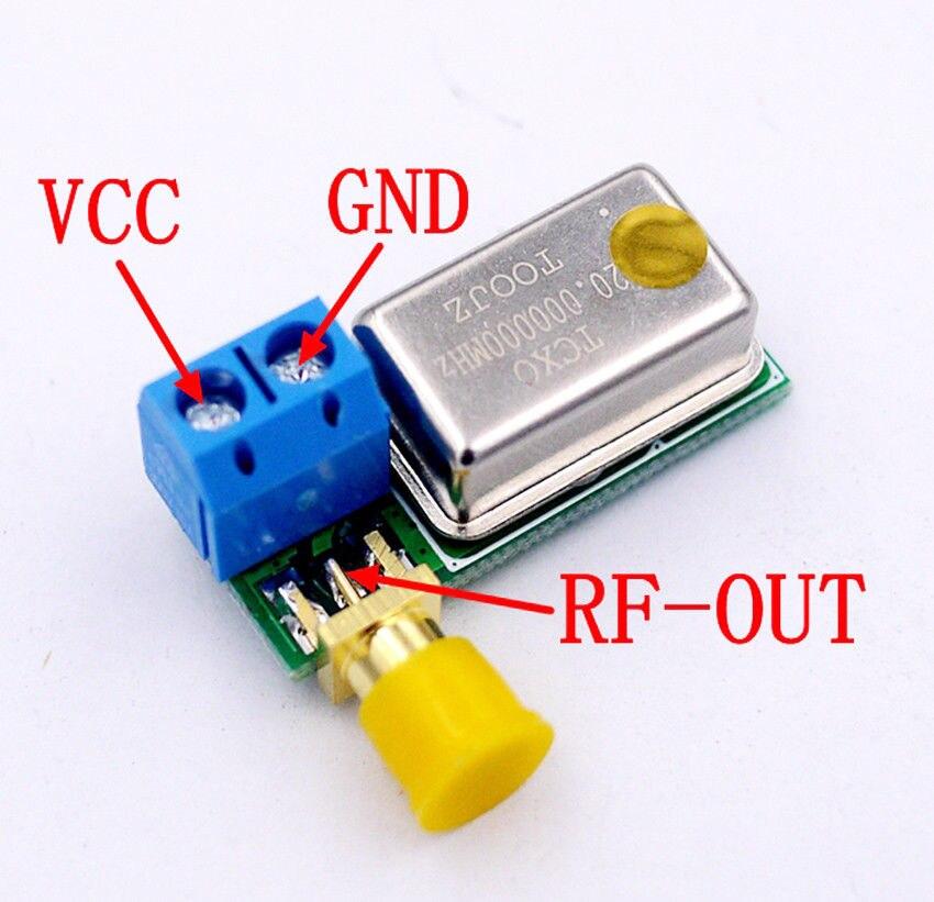 Nova saída de freqüência direta do módulo 0.1ppm do oscilador de cristal ativo de 10 mhz 20mhz