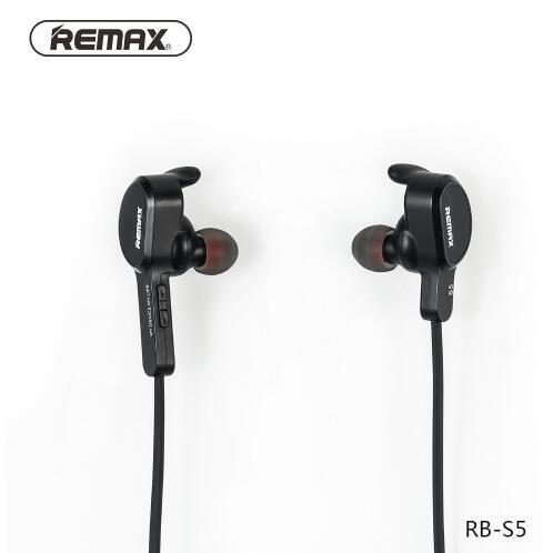 Remax RB-S5 auriculares inalámbricos Bluetooth V4.1 auriculares estéreo manos libres para teléfonos IPhone IPad Xiaomi