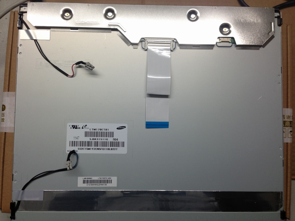 LTM170ET01   Original  17 inch 1280*1024 LCD Screen Modules  LTM170ET01