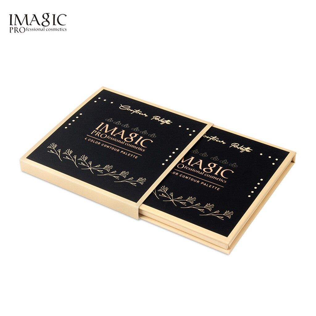 IMAGIC 4 Farbe Dressing Platte Concealer Öl-control Wasserdichte Multi-funktionale Make-Up Pulver Haaransatz Ergänzende 2019 May22