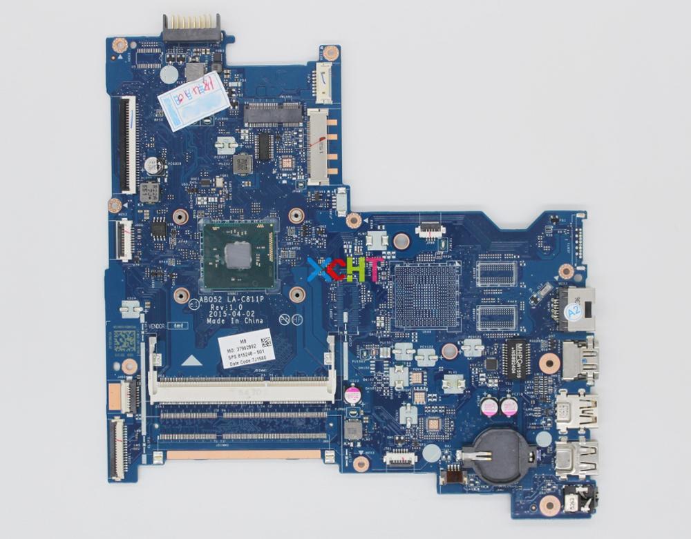 ل HP الدفتري 15 15-AC 15T-AC 15-AU سلسلة 815248-501 815248-601 815248-001 ABQ52 LA-C811P CelN3050 اللوحة المحمول اختبارها