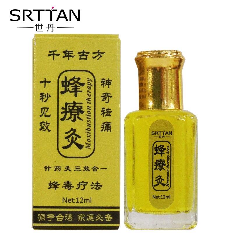 100% parches de hierbas chinos, aceite esencial para veneno de abeja, cuello, espalda, cuerpo, relajación, dolor, asesino, masaje corporal, bálsamo de Tigre, yeso
