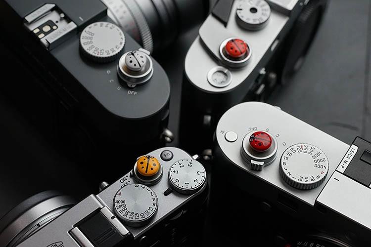 De Metal convexo botón disparador para Fuji X-T3 X-T2 X-T20 X-T30 X-T10 X-T1 X-E3 X-PRO2 X100T X100F X100S Leica M240 M10 M10P