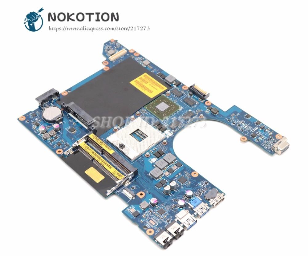 NOKOTION Laptop Motherboard For Dell Vostro 3560 MAIN BOARD CN-0RDH49 0RDH49 QCL00 LA-8241P HM77 DDR3 HD7670M gpu