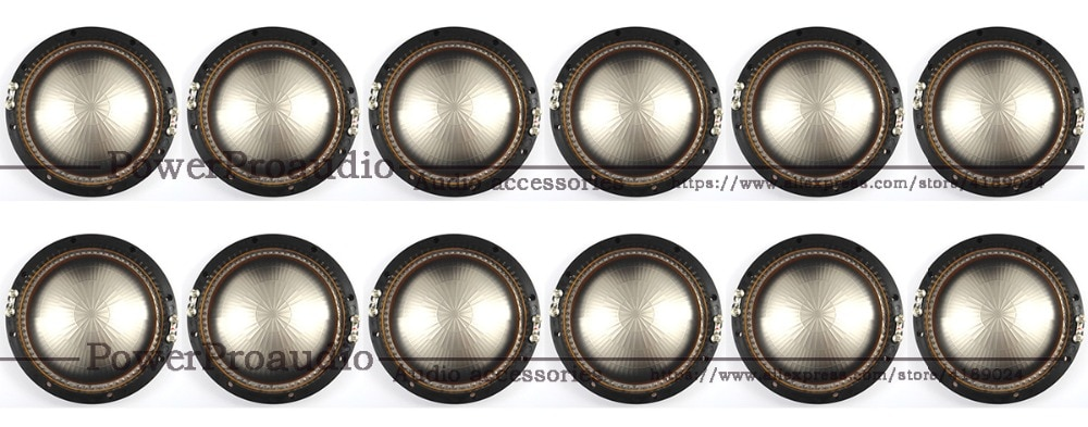 12 piezas de reemplazo de diafragma para JBL 2446J 2447J 2445J 2450J 2451J 2452J 16Ohm de aluminio puro de alambre plano