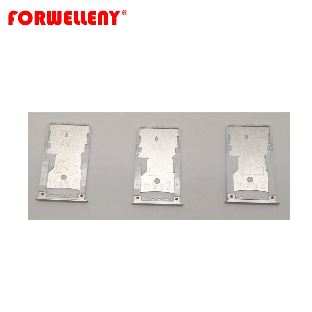 For xiaomi redmi 4 prime Micro Sim Card Holder Slot Tray Replacement Adapters grey, silver, gold недорого