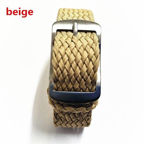 New arrived 1PCS High quality 16MM nylon straps perlon straps weave straps watch strap Watch band