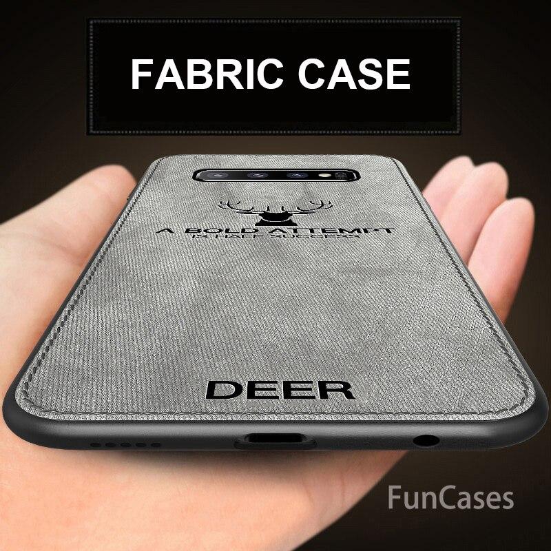 Para Samsung Galaxy S10 caso de cuero duro de la cubierta para...