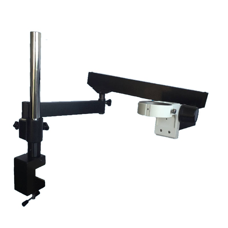 360 قابل للتعديل توضيح الذراع مع المشبك مجهر ستيريو حامل ل الصناعية ثلاثي العينيات/مجهر PCB إصلاح