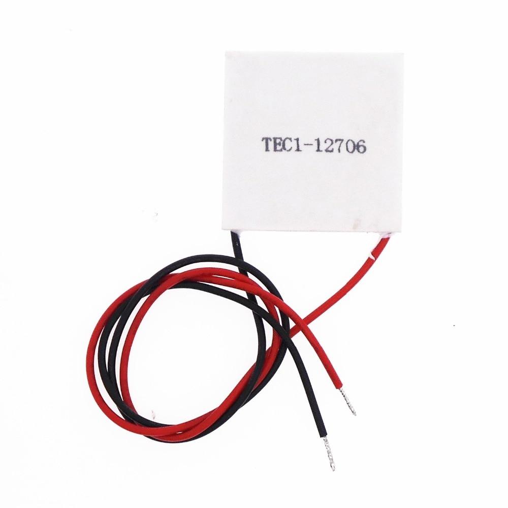 40*40mm 4cm de alta potência semicondutores de chips de refrigeração geladeira TEC1-12704 TEC1-12705 TEC1-12706 TEC1-12710 TEC1-12715