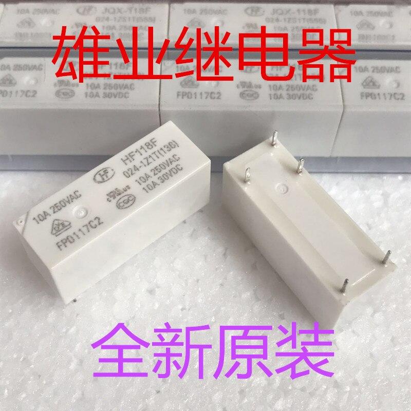 JQX-118F 024-1ZS1T(555) 118F-1C-24V  Relay