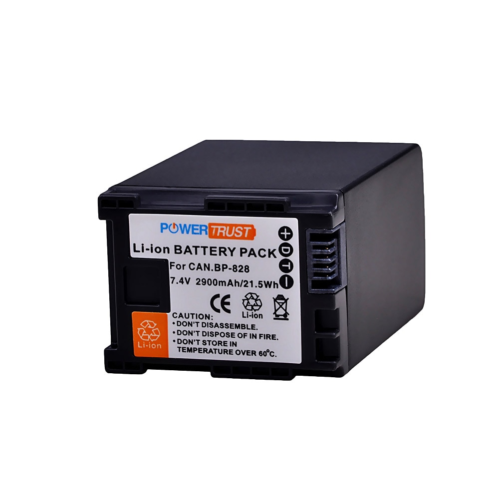 1Pc 2900mAh BP-828 BP 828 BP828 Camera Battery for Canon HFS30 HF20 HG20 G30 G40 XA20 XA25 HFM300 HFM30 HFG30 HFG10 HFM40