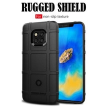 Pour Huawei Mate 20 Pro RS hybride résistant aux chocs armure téléphone coque arrière pour Mate 20 X dur robuste couverture dimpact Mate 20 Lite sacs