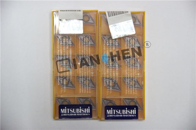 ميتسوبيشي 10 قطعة/الوحدة DCMT11T302-MV VP15TF DCMT11T304-MV VP15TF DCMT11T308-MV VP15TF