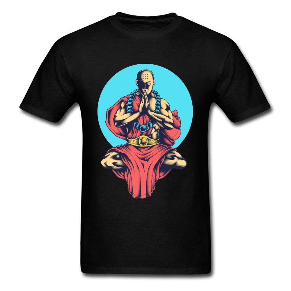 Engraçado clássico tshirt buda paz interior sul sil lum kong fu men tshirt de alta qualidade moda lazer camiseta masculina camisas