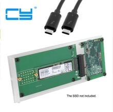 Thunderbolt 3 to PCI Express PCI-E to NGFF M-key NVME AHCI SSD Convert Case Cartridge