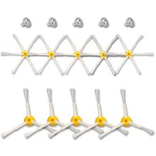 6-armado y 3-armados Cepillo Lateral piezas para iRobot Roomba 500, 600, 700 Series 550, 560, 630, 650, 760, 770, 780 de accesorio