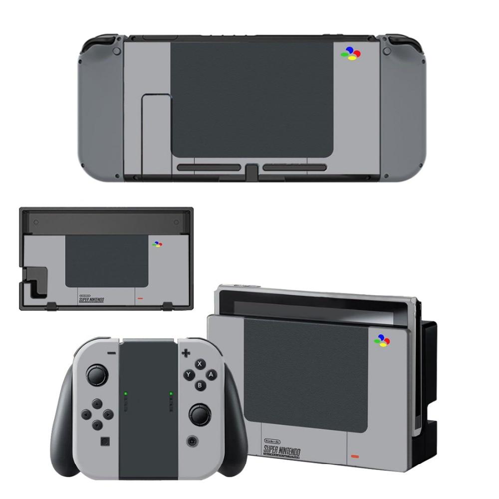 Pegatina para Nintendo Switch, pegatina para Nintendo Switch, controlador Joy-con y protección de muelle