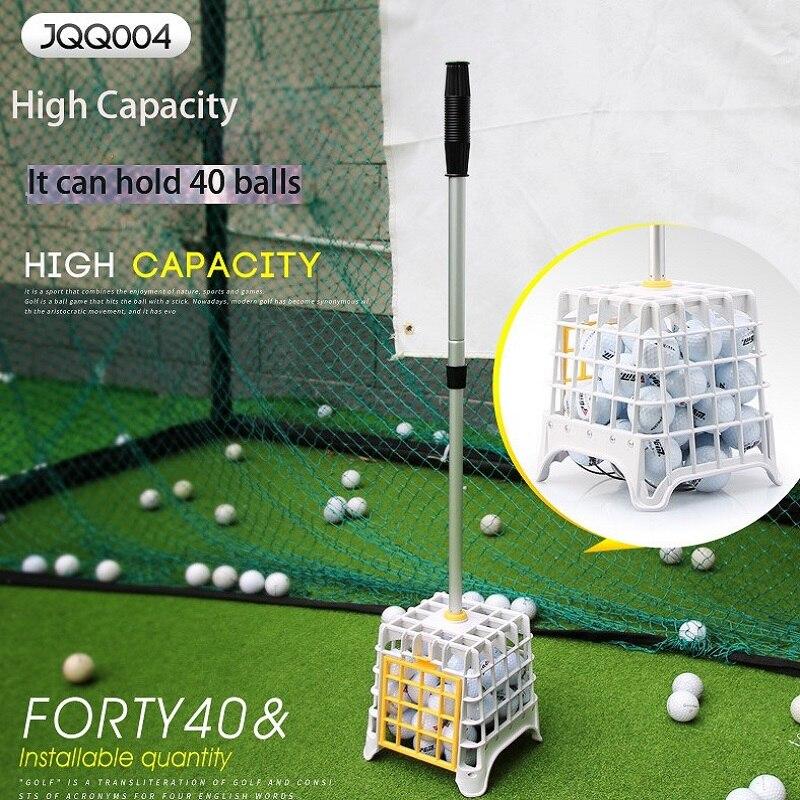 PGM גולף ספורט כדור אספן מכשיר נוח קל להרים כדור עומד חפץ ספקי גבוהה קיבולת יכול להחזיק 40 כדור