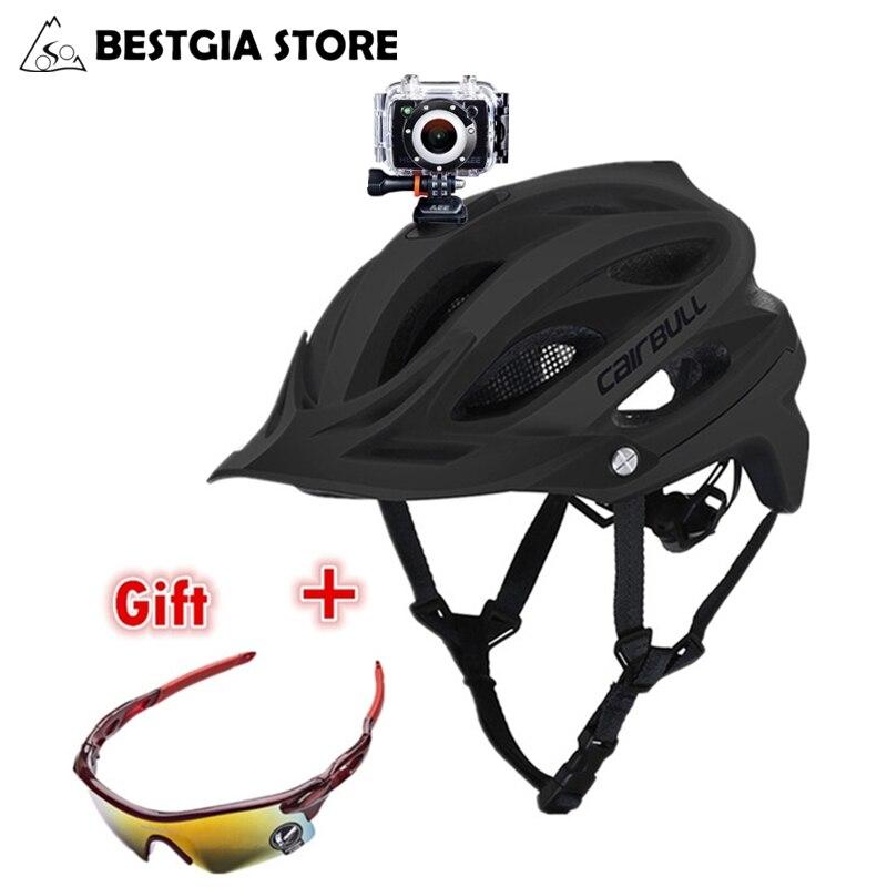CAIRBULL MTB DVR велосипедный шлем спортивная и экшн видеокамера устанавливаемый велосипедный шлем горный внедорожный велосипедный шлем BMX Casco