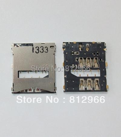 10 unids/lote, nuevo lector de tarjetas sim Original, soporte de conector para Sony XPERIA Z LT36 L36 L36H C6602 C6603, bandeja de ranura,