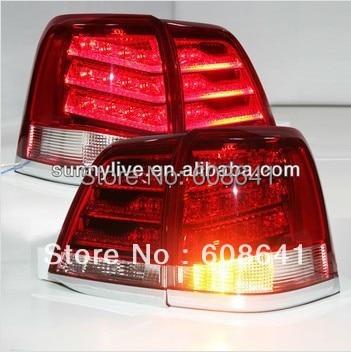 Land Cruiser FJ200 LC200 LED Tail Lamp Red White 2008-2013 year YZ