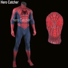 Héros receveur de haute qualité en Relief toiles daraignée Spiderman Costume Raimi Spiderman Costume en 3D toiles film en Relief toiles Spiderman Cosplay