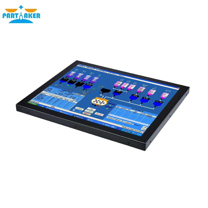 Z19 19 Inch Industrial Touch Panel PC with Made-In-China 5 Wire Resistive Touch Screen Intel Core I5 3317u 4G RAM 64G SSD enlarge
