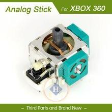 HOTHINK 2 stks/partij Nieuwe Vervanging Groen 3D joystick analoge Thumb stick voor XBOX 360/XBOX 360 SLIM controller gamepad