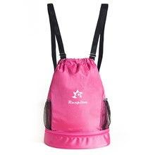 RUNPILOT sac de natation unisexe à cordon sac à dos de Sport avec compartiment à chaussures sac de Sport étanche avec séparation sèche/humide