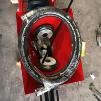 50m high pressure hose with lock head free shipping by fedex to ireland