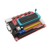 1PCS Mini System PIC Development Board + Microchip PIC16F877 PIC16F877A