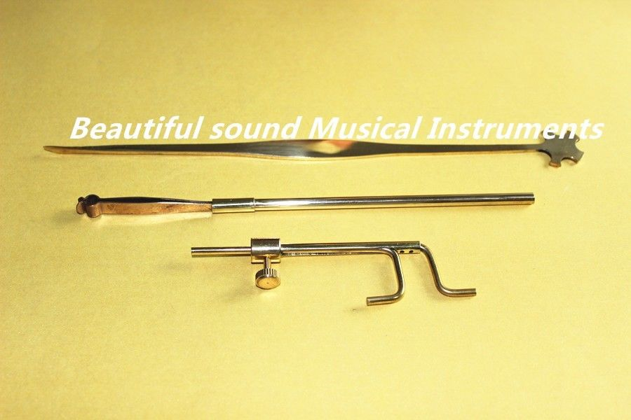 3 pièces Luthier violon faisant réparation outil son poste Retriever Setter jauge aussi