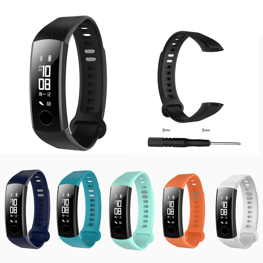 Smart Armband Strap Für Honor Band 3 Armband Silikon Sport Handgelenk Band Ersatz Riemen Für Huawei Ehre 3 Zubehör