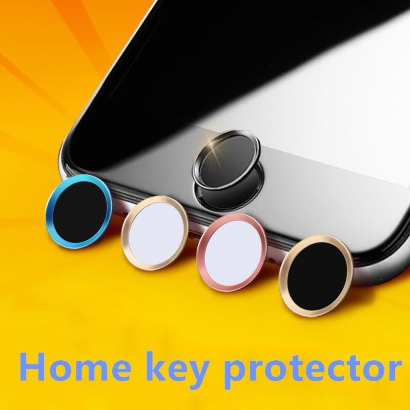 FFFAS мобильный телефон с сенсорным экраном, черный, серебристый, розовое золото, наклейка на кнопку «домой» для Apple IPhone 5, 7, 6, 6s plus
