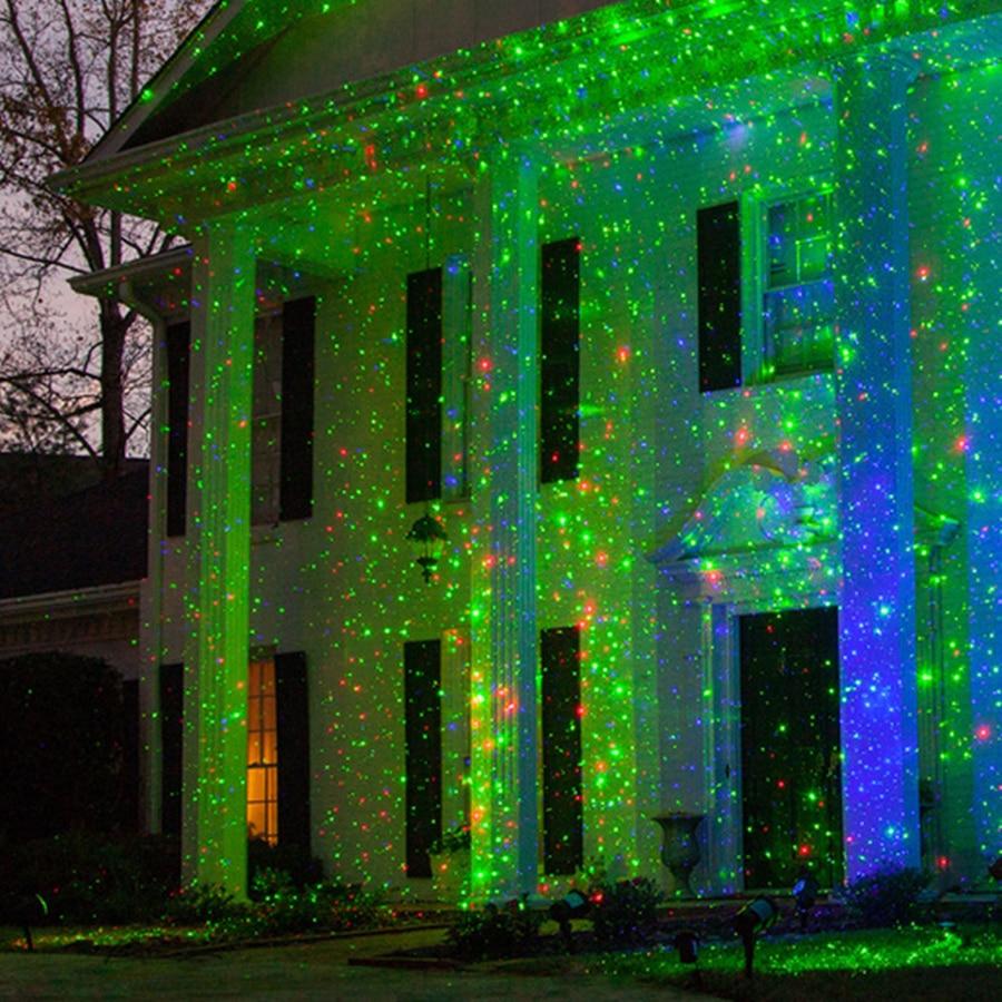 Thrisdar Outdoor RG Sky Star Weihnachten Laser Projektor Lampe Outdoor Garten Starry Led-strahler Grün & Rot LED Bühne Licht