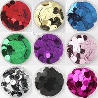 600pcs 8mm flat round sequins paillettes sewing wedding craft pvc sequin confetti for garment accessories