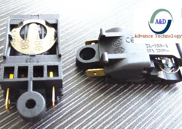 Original con 5 uds interruptor del termostato sl-888 hervidor de agua de vapor interruptor SL888
