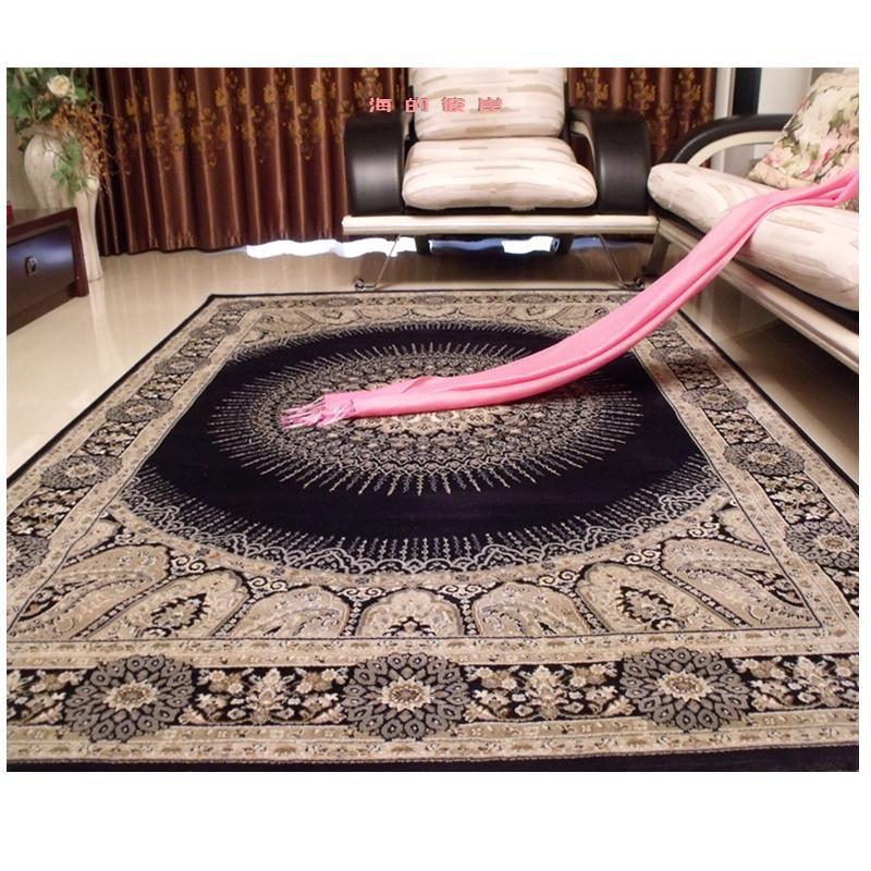 Alfombra persa importada de Turquía, alfombra para el hogar Europea americana, alfombra moderna clásica para dormitorio, sofá, mesa de centro, alfombra para el suelo