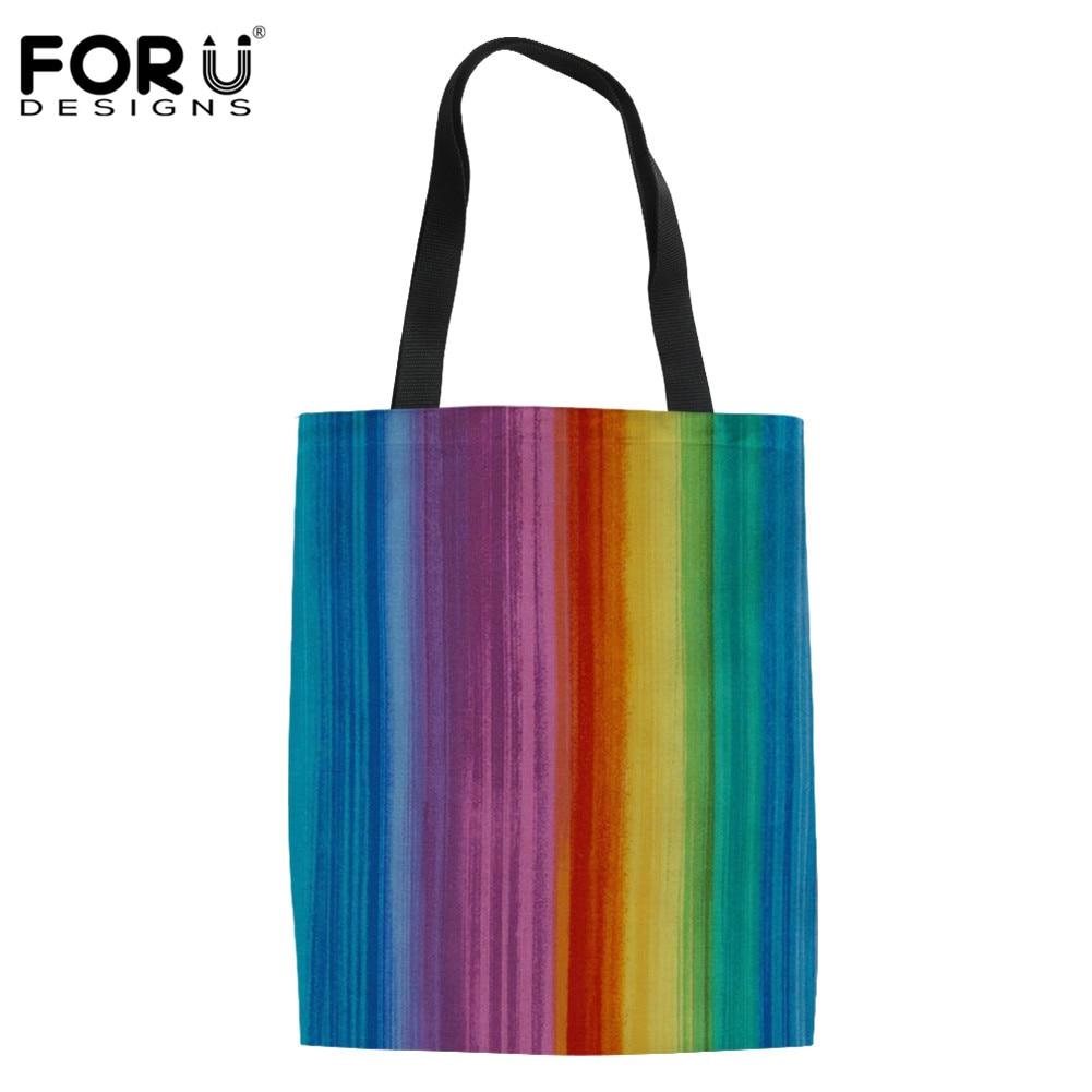 FORUDESIGNS negro africano chicas imprimir grande bolsa de compras reutilizable para mujeres chicas Casual Totes bolso de lona Eco bolso plegable