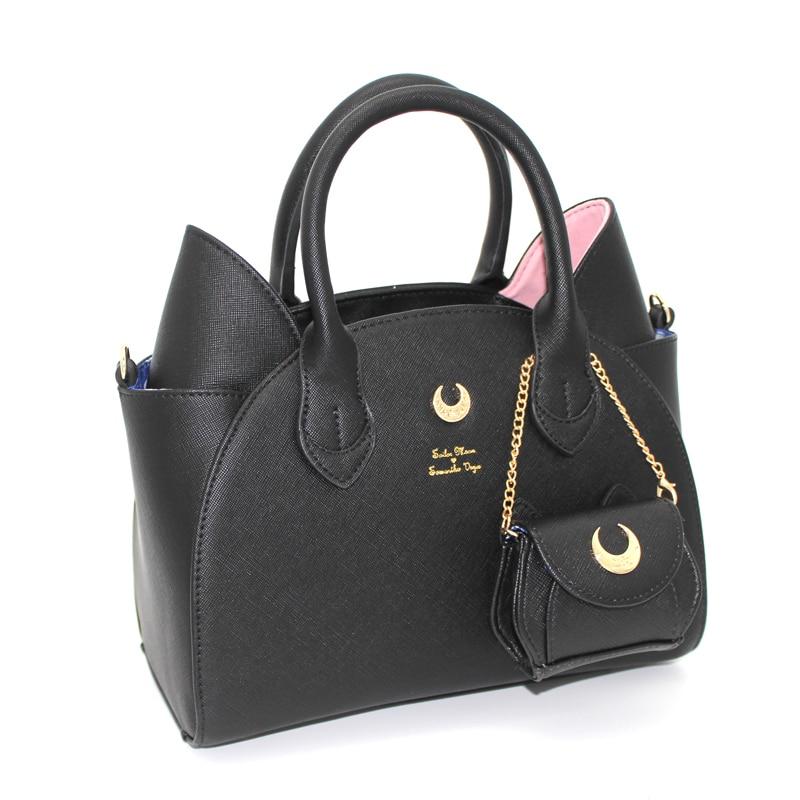 Сумка Сейлор Мун Саманта Вега Луна женская сумка 20-летняя сумка через плечо с кошачьими ушками ручная сумка