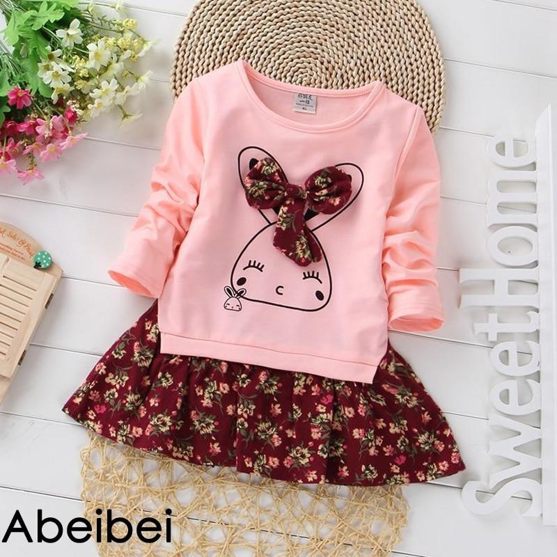 Nueva llegada de primavera, vestido de una pieza para niñas, color rosa, diseño de telas combinadas para niños, Ropa para Niñas, niñas, envío gratis