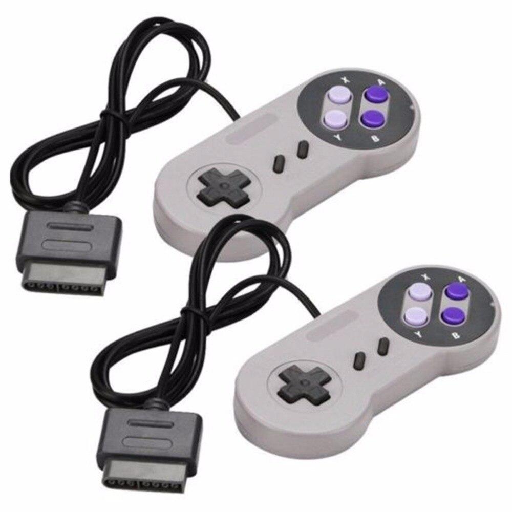 2PCS Joypad Gamepad Controller Pad For Nintendo Super Famicom SNES Fighting Commander Controller for Nintendo