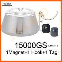 15000GS magnete universale per la rimozione di etichette con separatore magnetico 1 pezzo separatore di chiavi con gancio separatore di etichette di sicurezza